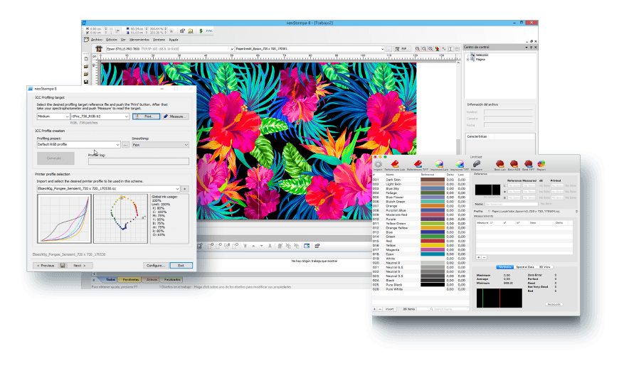 Digital printing software