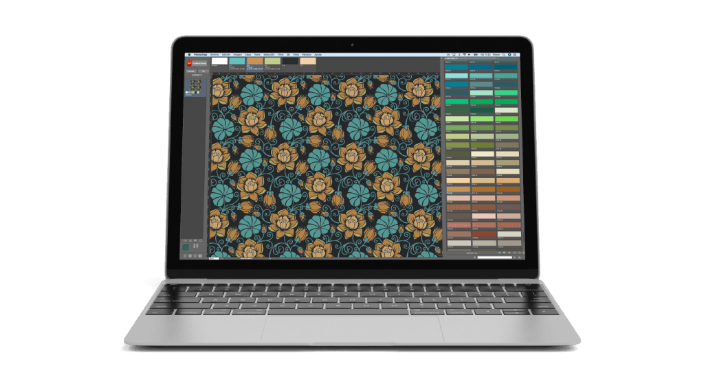 Textile design software-ntcoloration