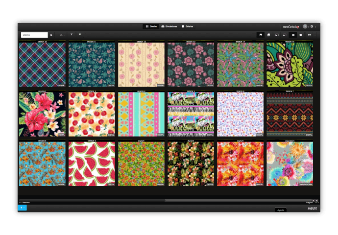 Neocatalog Textile Design Software